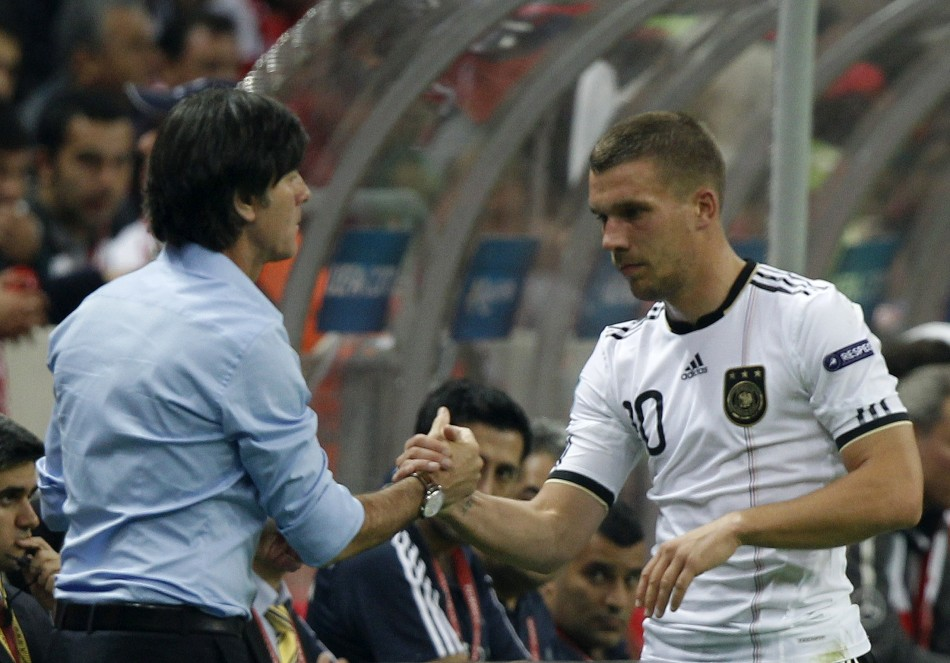 Arsenal have not made an approach for Lukas Podolski