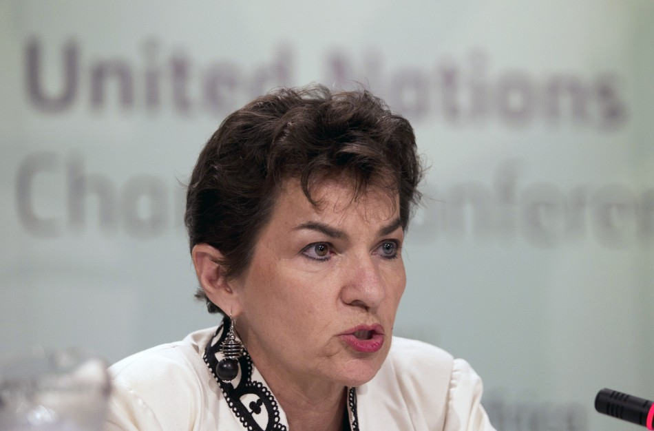 Executive Secretary of the UNFCCC Christiana Figueres 2011