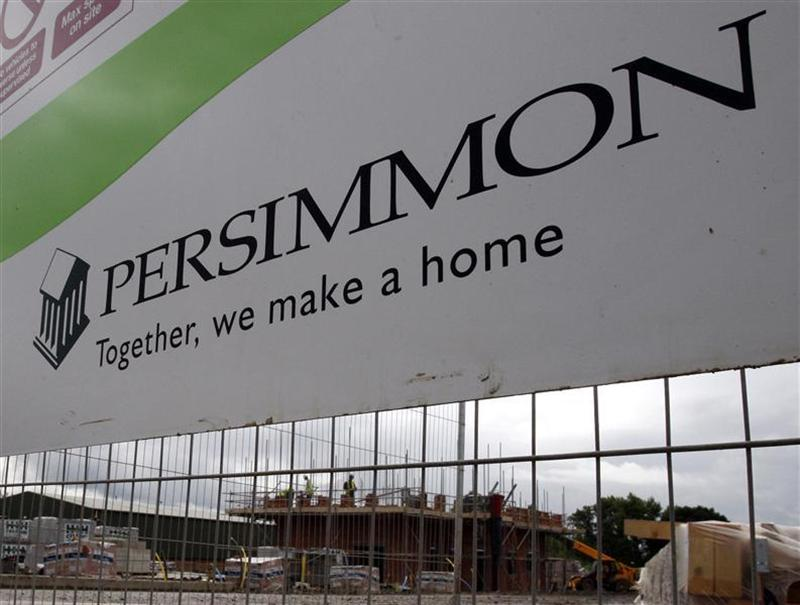 Persimmon housing development is pictured in Hilton