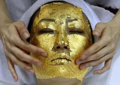 A 24-Carat Gold Facial