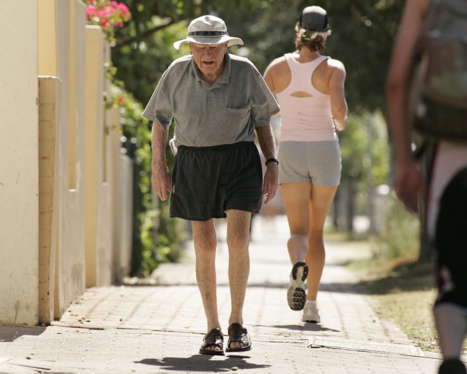 Older joggers use oxygen as efficiently as young runners, study.