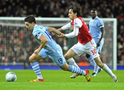 Arsenal - 0, Manchester City - 1