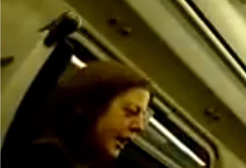 New racist woman