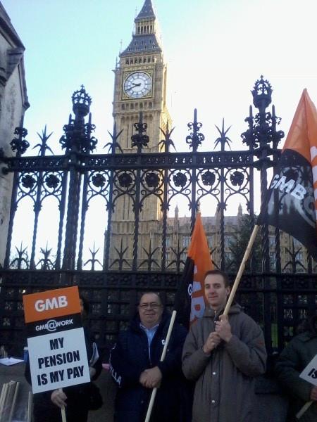 Big Ben protesters