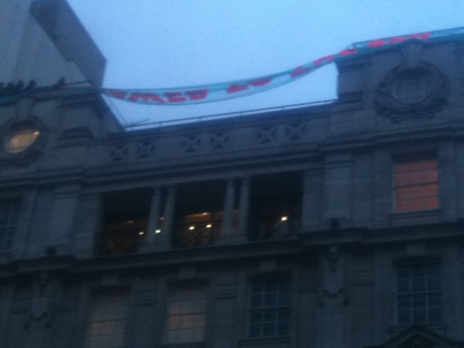 Panton House protesters
