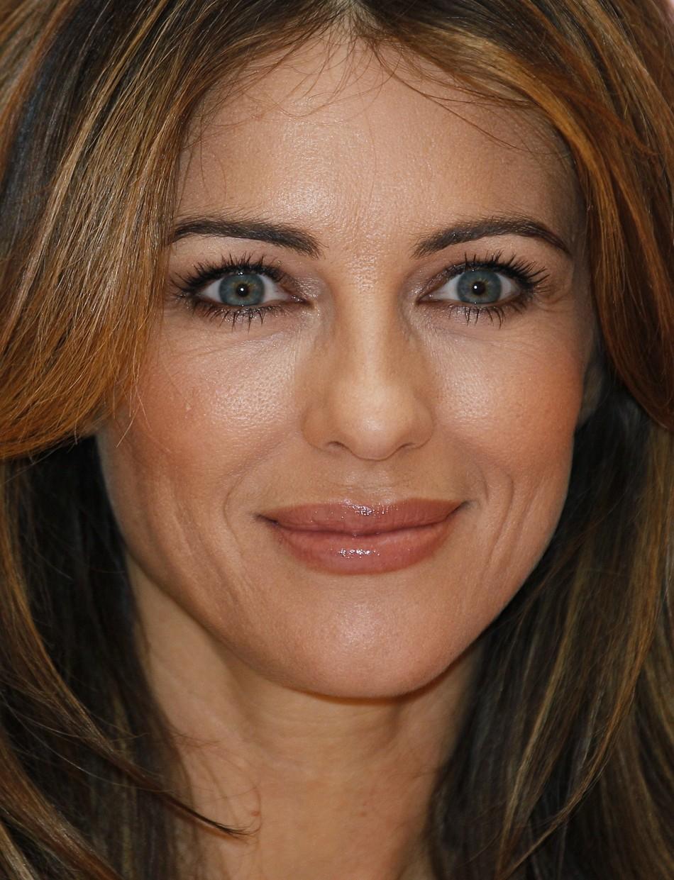 Actress Liz Hurley