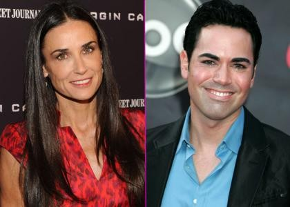 Demi Moore and Scott-Vincent Borba