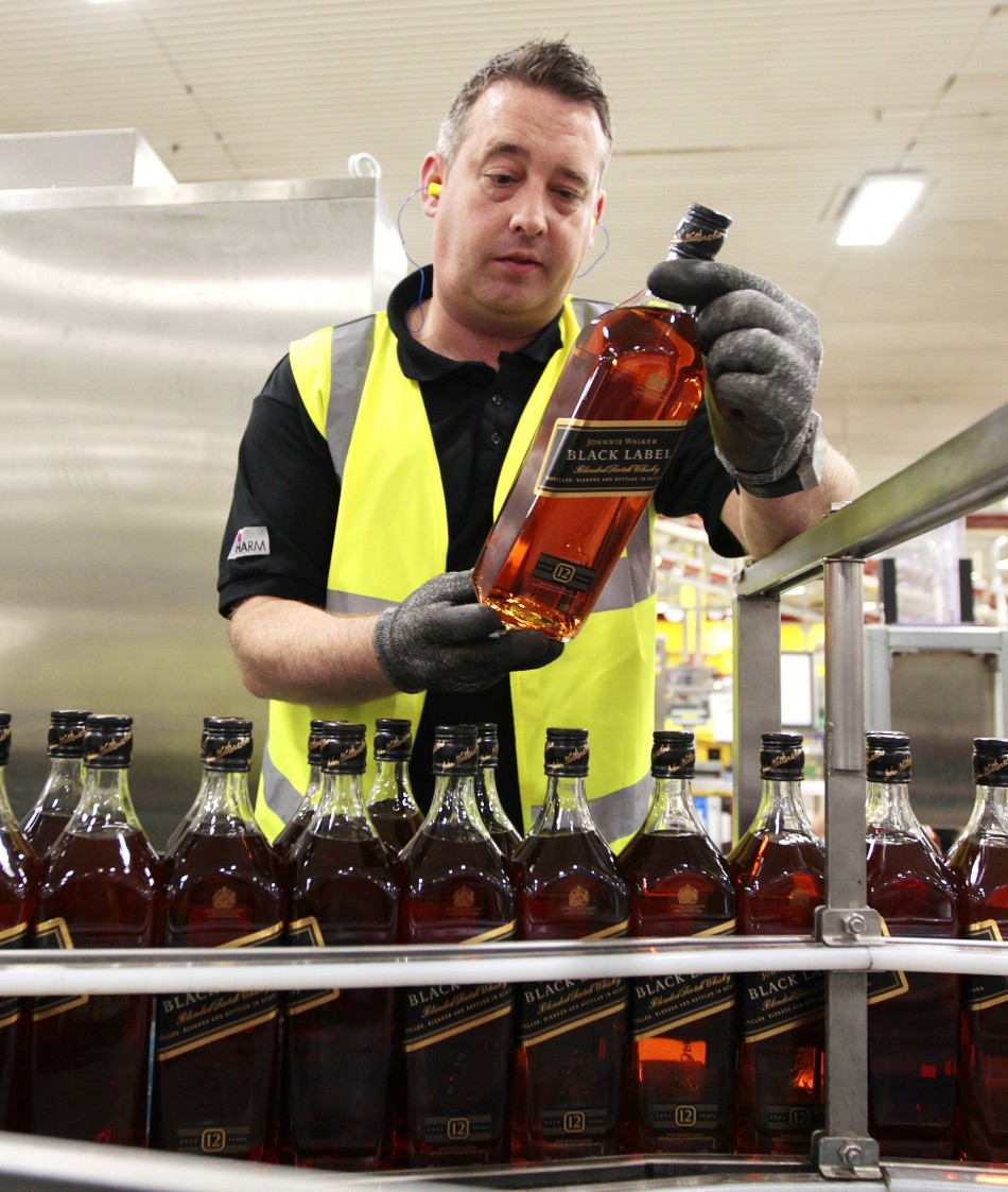 Scotch Whisky Exports decline