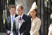 The Royal Trio at a Family Wedding