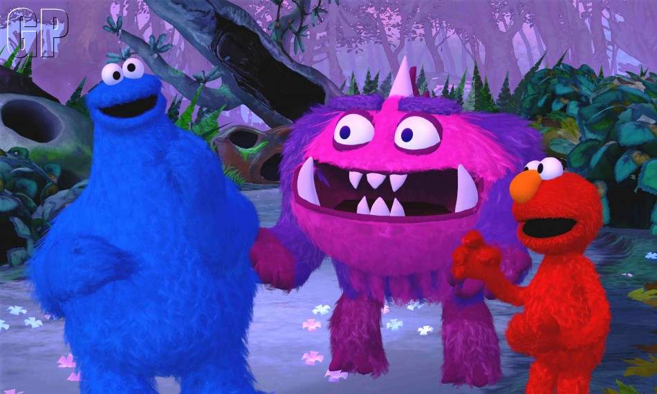 Sesame Street: Once Upon a Moster