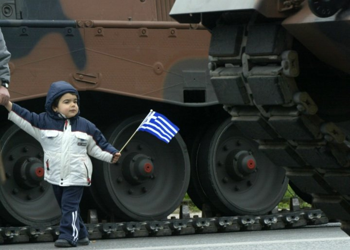 Will there be tanks on the streets of Greece?