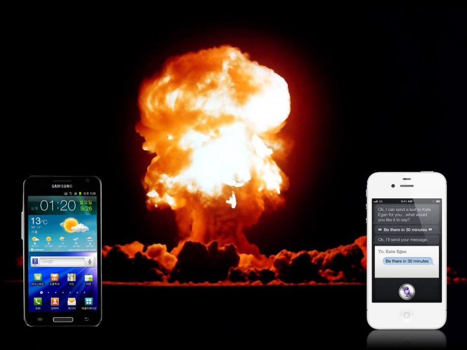 Smartphone Exploding Pandemic: iPhone and Galaxy SII Skyrocket Threaten Users' Nether-Regions