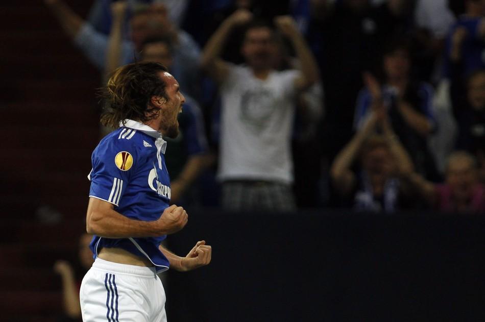 Schalke 04's Christian Fuchs