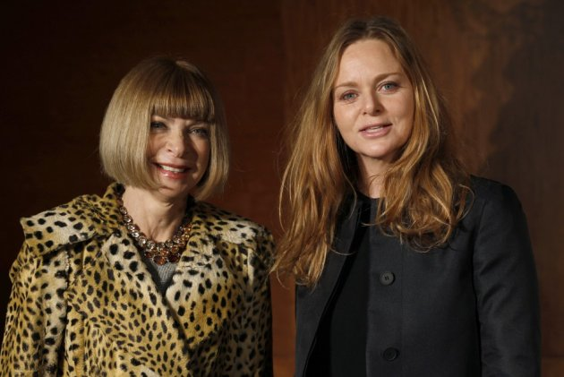 Stella McCartney with Anna Wintour