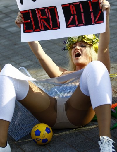 Femen has established an international reputation for staging semi-naked protests in Ukraine and abroad.