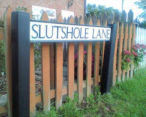 Slutshole Lane, Norfolk