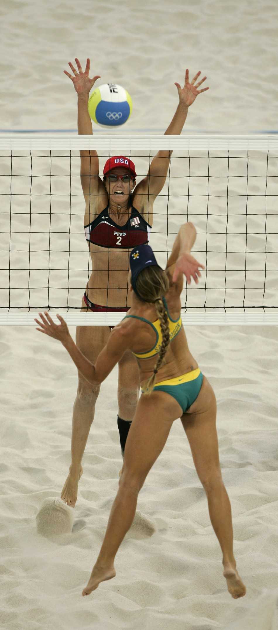 Women's Beach Volleyball game