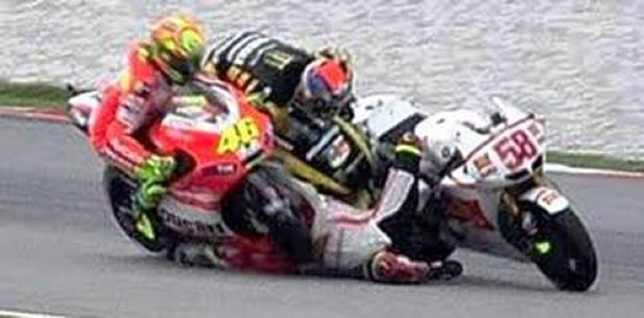 Malaysian MotoGP Crash Results in a Kill