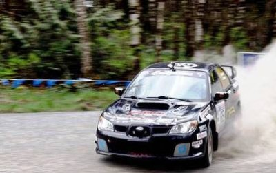 Death on a Tough Turn at the Olympus Rally Crash