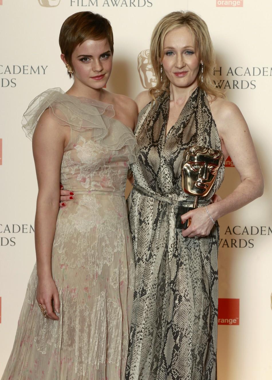 J.K.Rowling on February 13, 2011.
