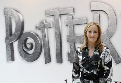 J.K.Rowling on June 23, 2011.
