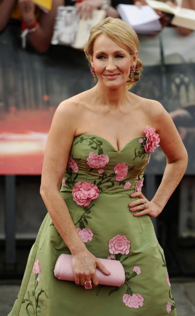 J.K.Rowling on July 7, 2011.