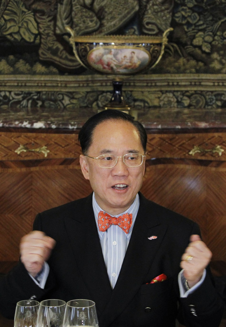 Hong Kong Chief Executive Donald Tsang