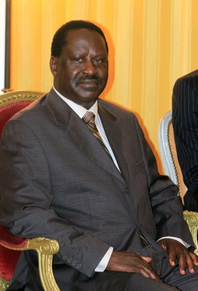Kenyas Prime Minister Raila Odinga
