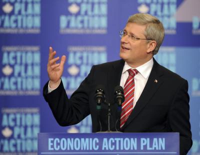 Canadas PM Stephen Harper