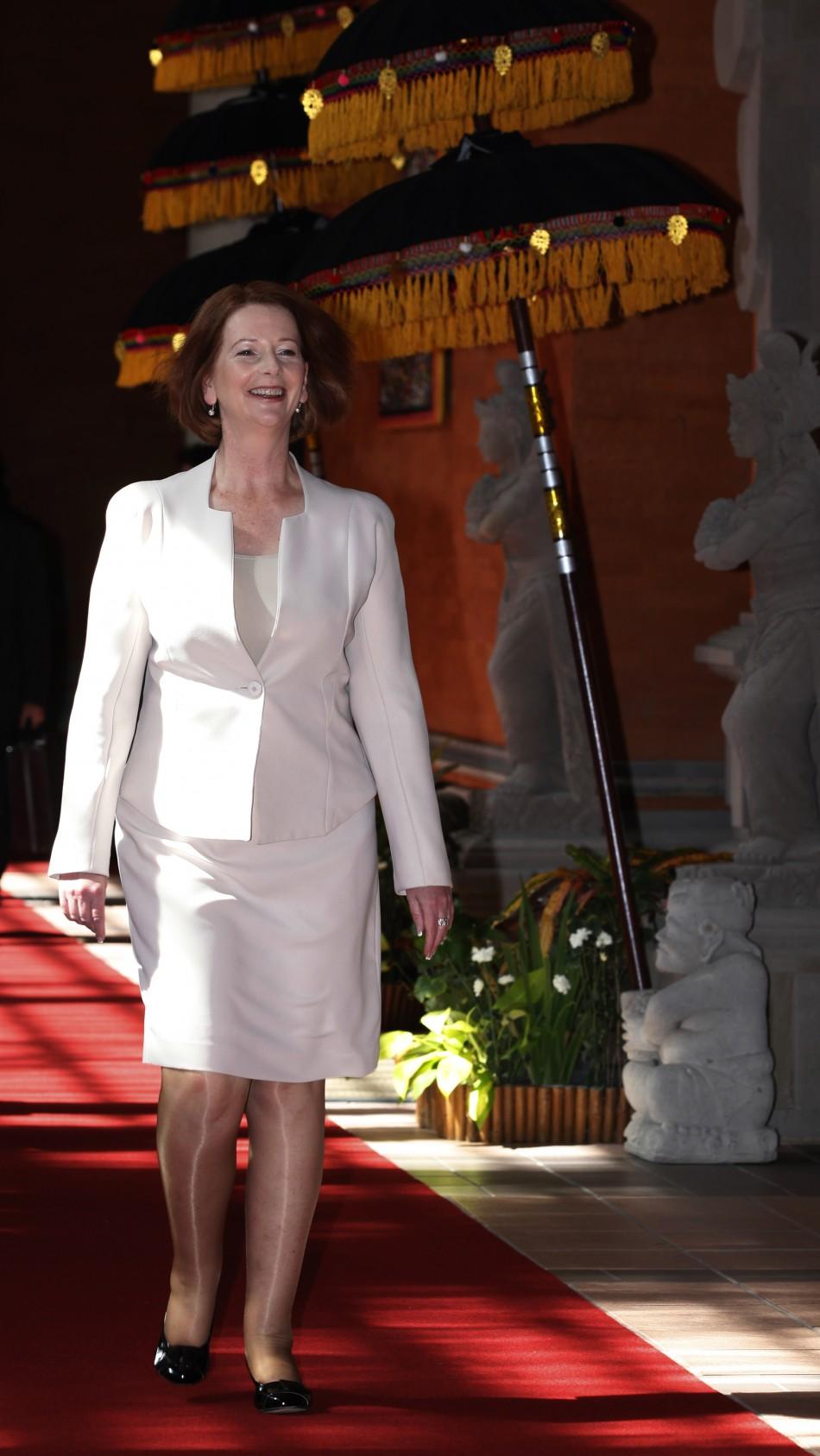 Australias Prime Minister Julia Gillard
