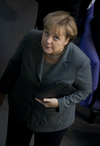 German Chancellor Merkel