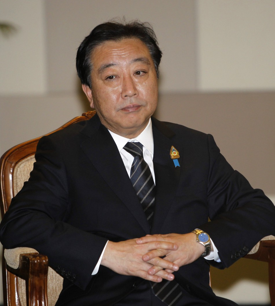 Japans Prime Minister Yoshihiko Noda