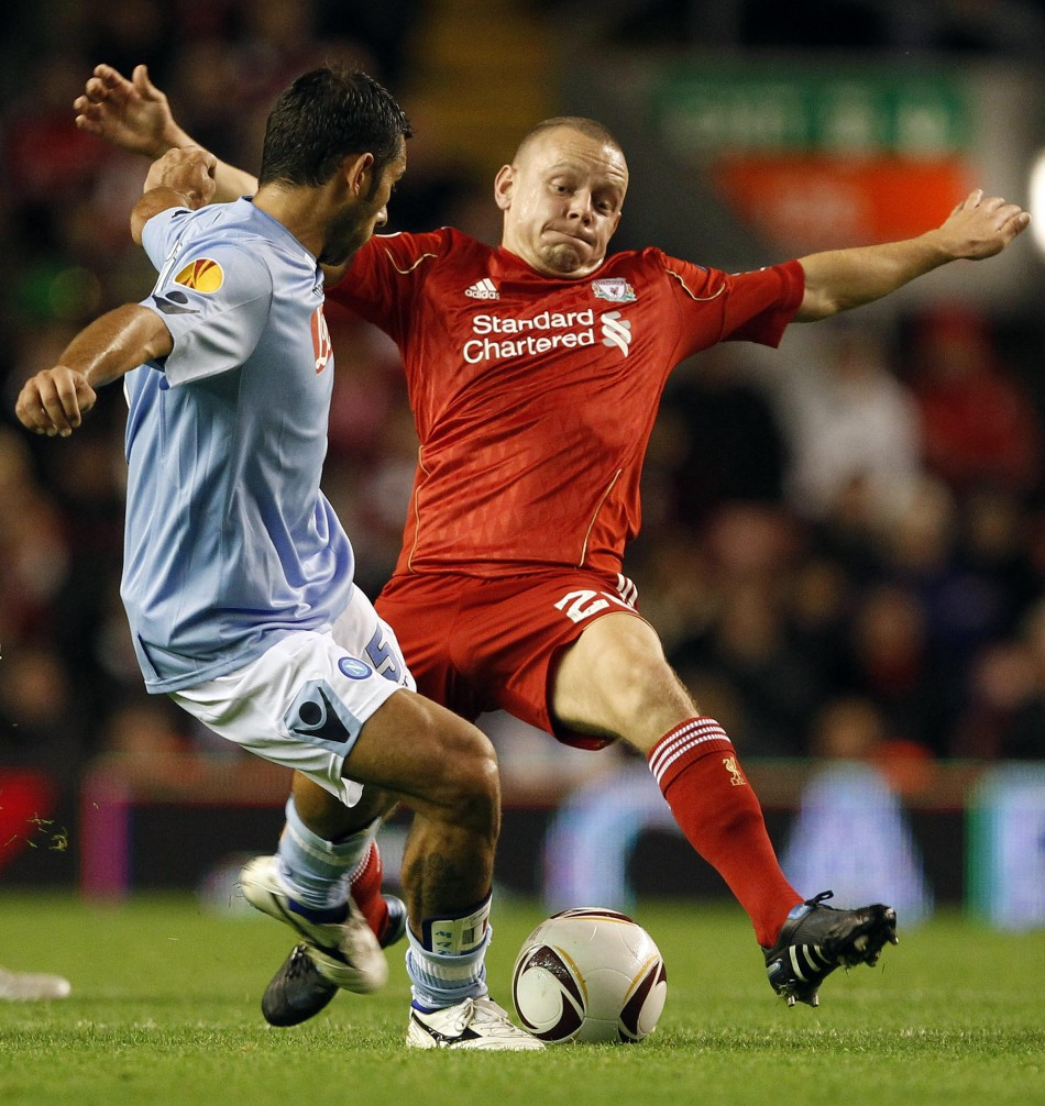 Liverpool's Jay Spearing has been backed to fill the boots of Lucas Leiva.