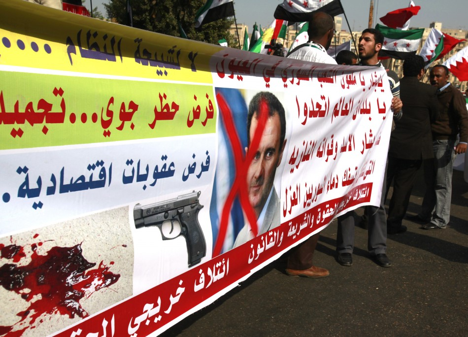 Anti-Bashar sentiment