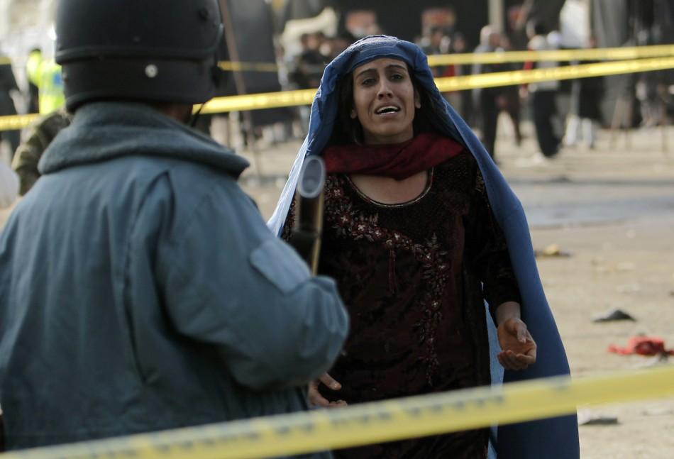 Afghan Shia Shrine Suicide Bomb