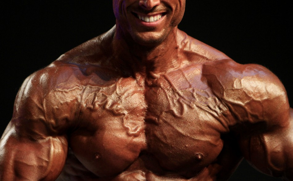 Ruben Arzu the naked, 21-stone body builder has been booked into West Valley Detention Center in Rancho Cucamonga, California with his bail set at $1million(£640,000).