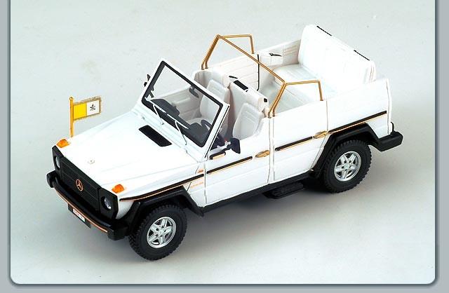 Popemobile toy model