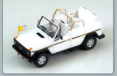 Popemobile toy model