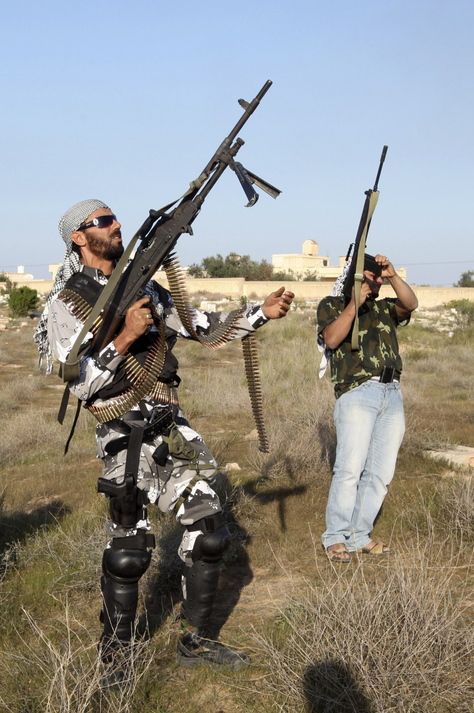 Libyan fighters
