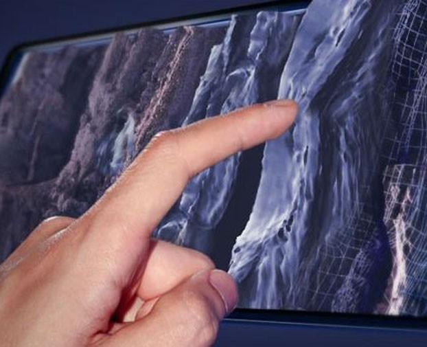 Senseg Touchscreen