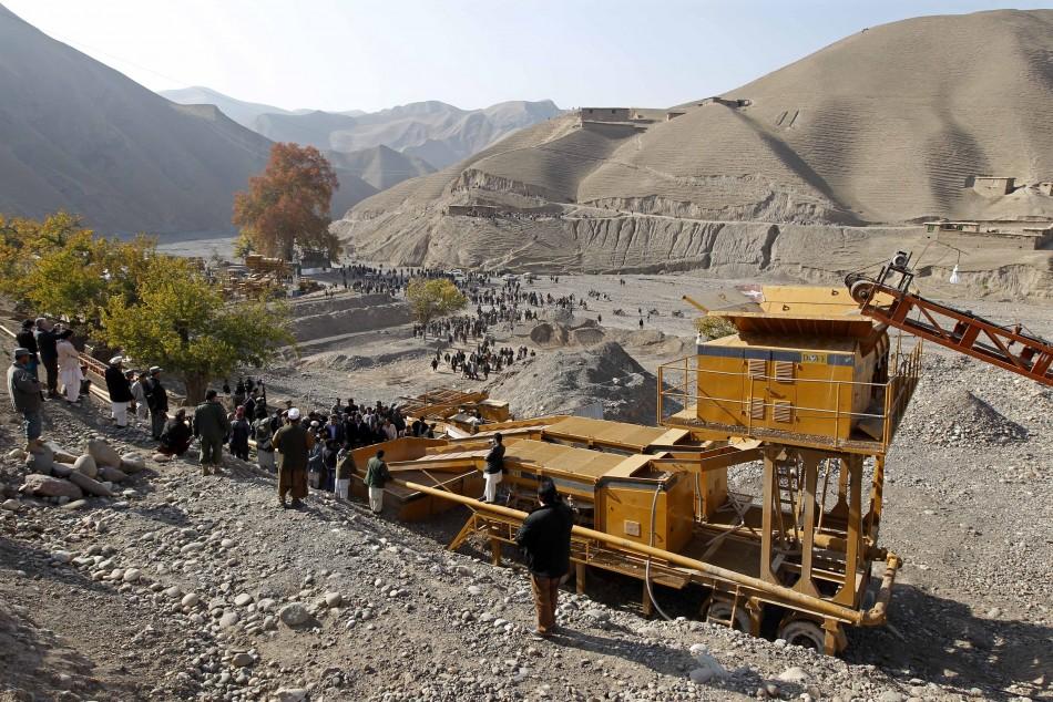 Gold mine Afghanistan