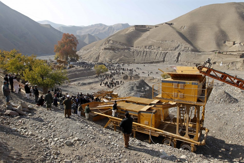 Gold mine Afghanistan