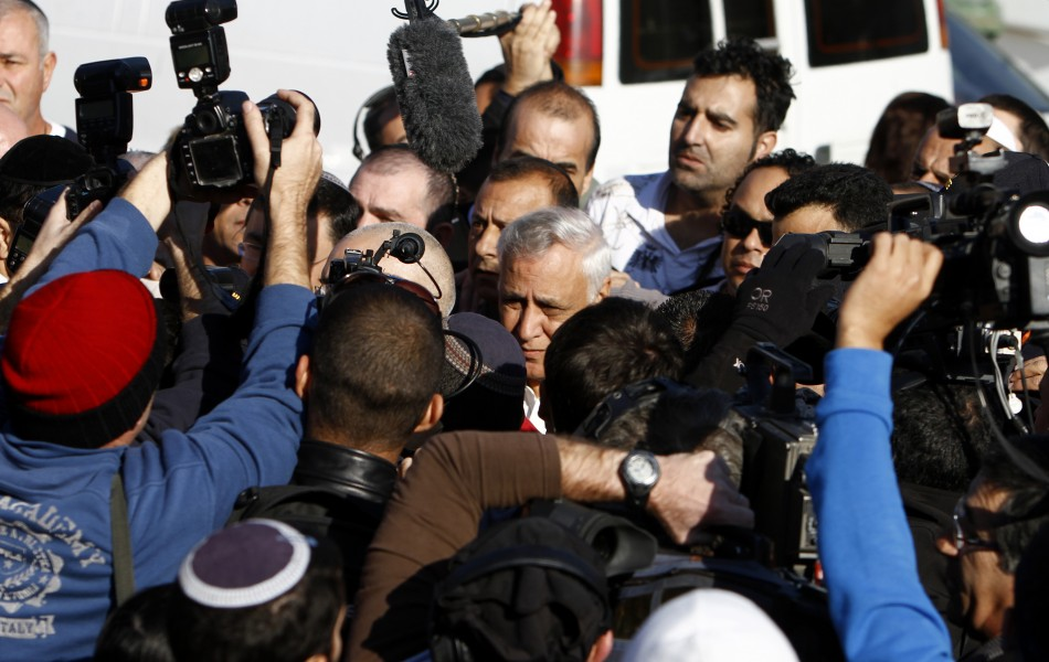 Katsav Begins Jail Term