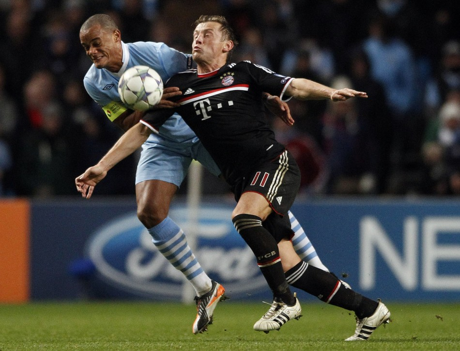 Manchester City vs. Bayern Munich