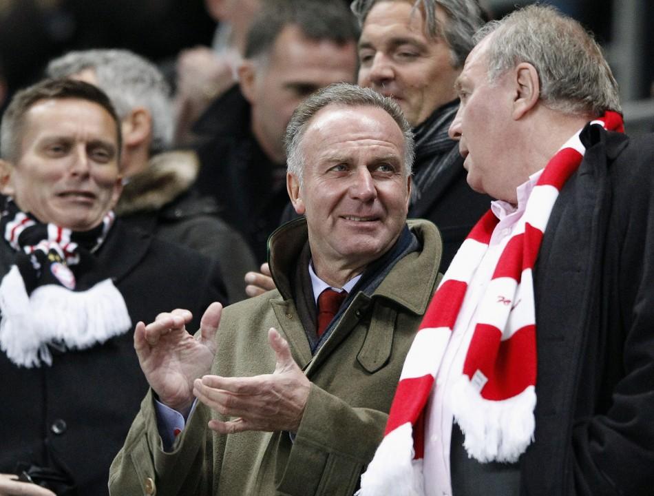 Manchester City vs. Bayern Munich