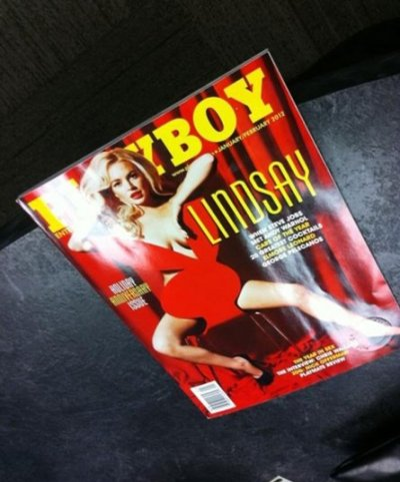 Lindsay Lohans nude Playboy cover