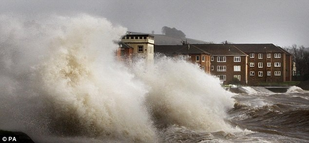 Hurricane-force winds have been recorded in the Cairngorm area of Scotland