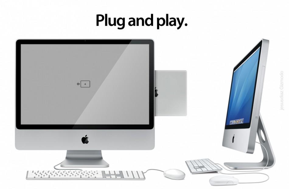 iPad iMac dock