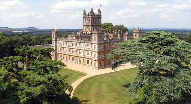 Highclere Castle £72million