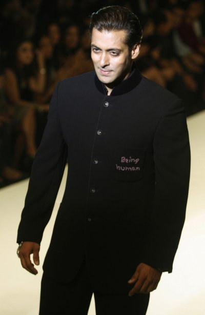 Bollywood actor Salman Khan